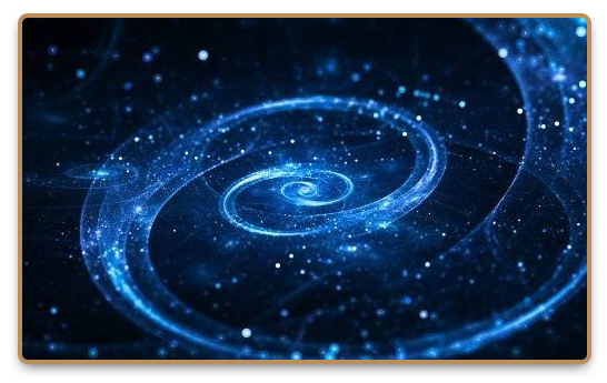 Blue tachyon energy sparkles