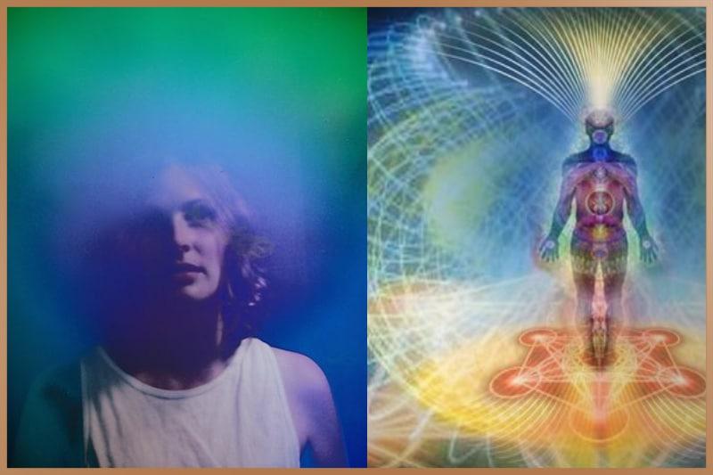Aura surrounds the human body