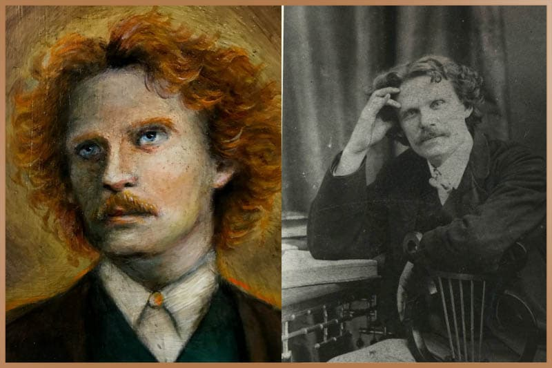 Daniel Dunglas Home a famous medium and pyrokinesis practitioner