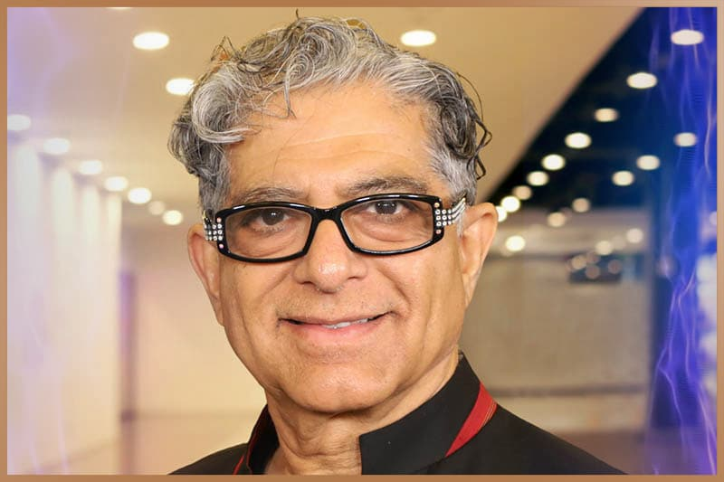 Deepak Chopra, the famous Indian-American author and alternative-medicine advocate