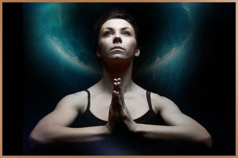 Drishti is the yogic practice of focused gaze