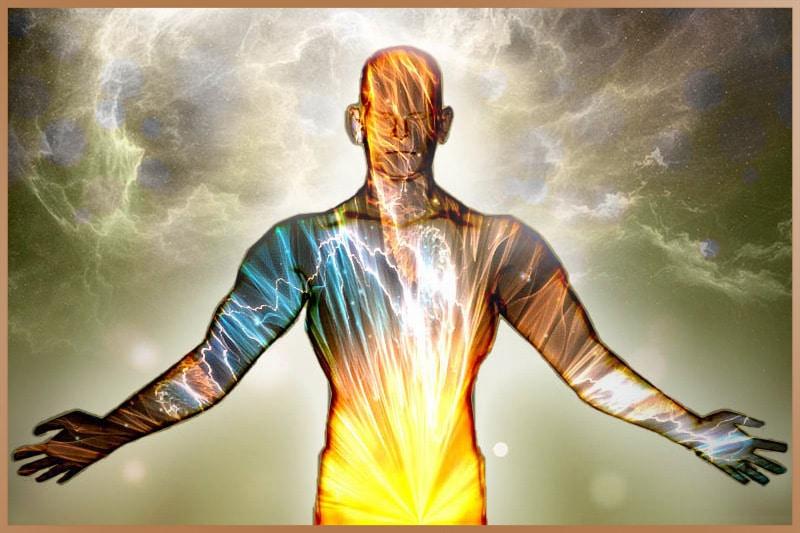Physical body is the coating, inner body is full of energy