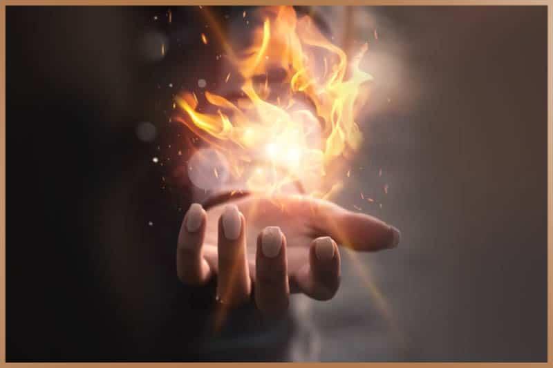 Pyrokinesis practice, fire manipulation
