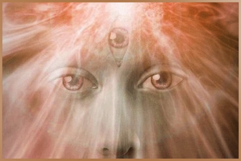 Third-eye is the energy center lies in the middle of the forehead